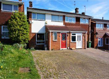 Thumbnail 3 bedroom semi-detached house for sale in Stukeley Road, Basingstoke