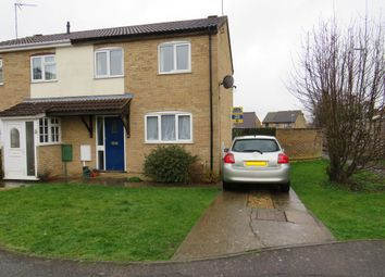 Thumbnail 3 bed semi-detached house for sale in Mcinnes Way, Raunds, Wellingborough