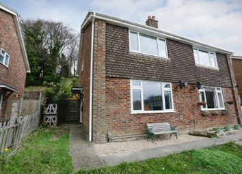 Thumbnail 4 bed semi-detached house for sale in Templeside, Temple Ewell, Dover