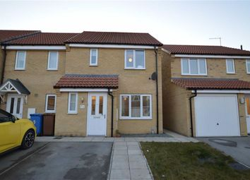 Thumbnail 3 bed semi-detached house for sale in Avocet Close, Hornsea, East Yorkshire