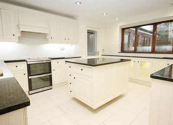 Thumbnail 4 bed detached house to rent in Higher Lane, Lymm, Warrington