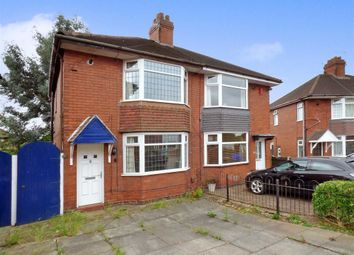 Thumbnail 2 bedroom semi-detached house for sale in Collis Avenue, Stoke, Stoke-On-Trent