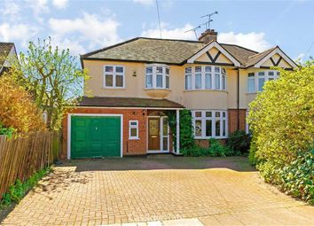 Thumbnail 5 bed semi-detached house for sale in Jennings Road, St Albans, Hertfordshire