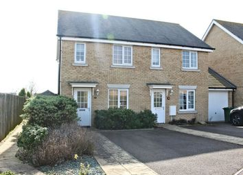 Thumbnail 2 bed semi-detached house to rent in Stagwell Road, Great Cambourne, Cambourne, Cambridge