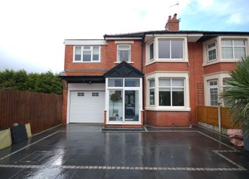 Thumbnail 4 bed semi-detached house for sale in Darley Avenue, Blackpool