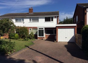 Thumbnail 3 bed property to rent in Oakfields Way, Catherine-De-Barnes, Solihull