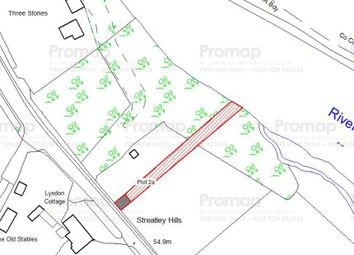 Thumbnail Land for sale in Plot 2 Riverside Amenity, Land At Reading Road, Streatley, Reading, Berkshire