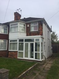 Thumbnail 3 bed semi-detached house to rent in Ermington Crescent, Hodge Hill