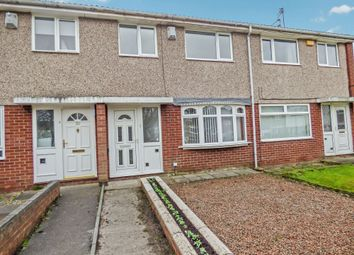 Thumbnail 3 bed terraced house for sale in Hersham Close, Kingston Park, Newcastle Upon Tyne