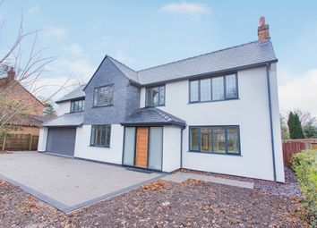 Thumbnail 5 bedroom detached house for sale in Common Lane, Culcheth, Warrington