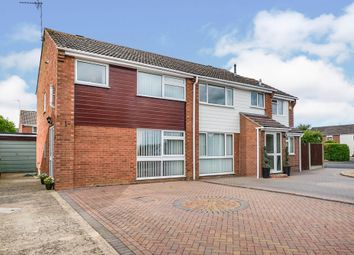 Thumbnail 3 bed semi-detached house for sale in The Croftlands, Bredon, Tewkesbury, Gloucestershire