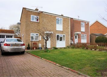 Thumbnail 3 bed semi-detached house for sale in St. Lukes Way, Rochester