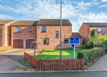 Thumbnail 5 bed detached house for sale in College Farm Close, Whitley, Goole
