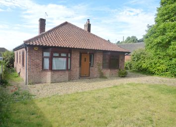 Thumbnail 2 bed detached bungalow for sale in Park Road, Spixworth, Norwich