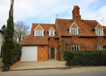 Thumbnail 3 bedroom semi-detached house to rent in Greendown Cottages, Thames Street, Sonning, Reading
