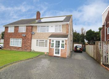 Thumbnail 4 bed semi-detached house for sale in The Croft, Crawley