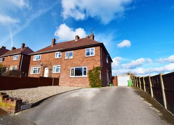 Thumbnail 3 bed semi-detached house for sale in Birches Avenue, South Wingfield, Alfreton