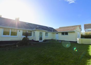 Thumbnail 5 bedroom detached bungalow for sale in Cyttir Road, Holyhead
