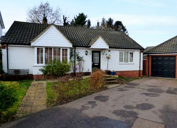 Thumbnail 2 bed detached bungalow for sale in Lime Tree Avenue, Long Stratton, Norwich