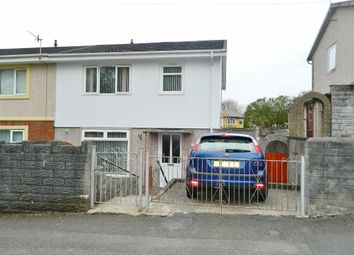 Thumbnail 3 bedroom semi-detached house for sale in Upper Kings Head Road, Gendros, Swansea