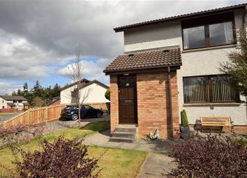 Thumbnail 1 bed flat for sale in Towerhill Crescent, Cradlehall, Inverness