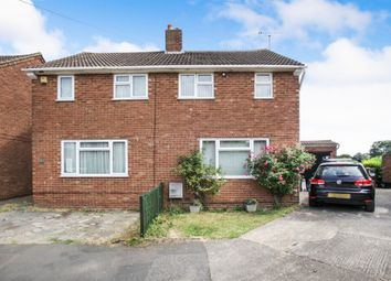 Thumbnail 2 bed semi-detached house for sale in Field End Close, Luton