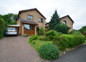 Thumbnail 3 bed detached house for sale in Waulkglen Drive, Glasgow