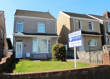 Thumbnail 3 bed detached house for sale in Middle Road, Gendros, Swansea