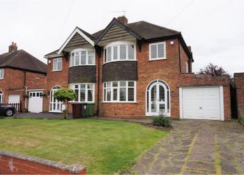Thumbnail 3 bedroom semi-detached house for sale in Hornby Road, Wolverhampton