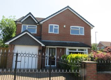 Thumbnail 4 bed detached house for sale in School Lane, Rainhill