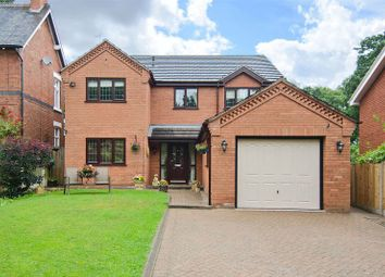 Thumbnail 4 bed detached house for sale in Chaseley Road, Etchinghill, Rugeley
