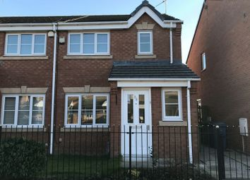 Thumbnail 3 bed semi-detached house to rent in Woolmoore Road, Speke, Liverpool