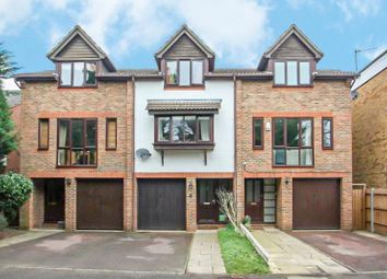 Thumbnail 4 bed terraced house to rent in Woodcroft Court, West Byfleet