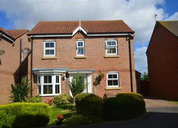 Thumbnail 4 bedroom detached house for sale in Swallow Close, Hornsea, East Yorkshire