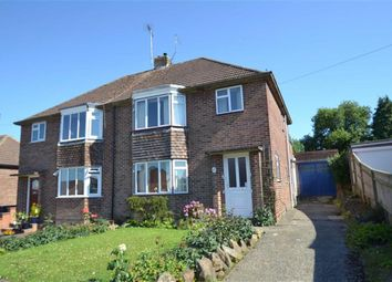 Thumbnail 3 bed semi-detached house for sale in Croft Road, Newbury, Berkshire