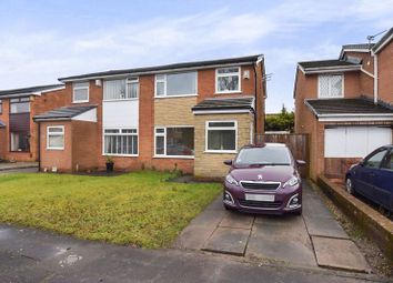 Thumbnail 3 bed semi-detached house for sale in Castle Croft, Harwood, Bolton