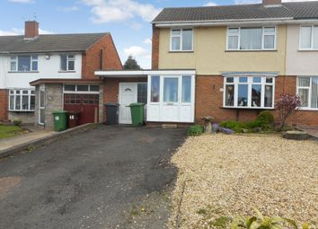 Thumbnail 3 bedroom semi-detached house for sale in Cricket Meadow, Fordhouses, Wolverhampton
