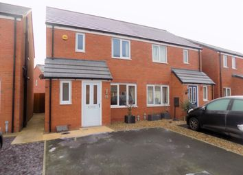 Thumbnail 3 bed semi-detached house for sale in Jubilee Pastures, Middlewich