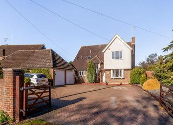 Thumbnail 4 bedroom detached house for sale in Roman Road, Ingatestone
