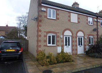 Thumbnail 2 bed end terrace house to rent in Avenue Gardens, Thetford