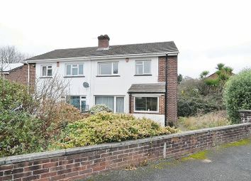 Thumbnail 3 bedroom semi-detached house for sale in St. Erth Road, Plymouth