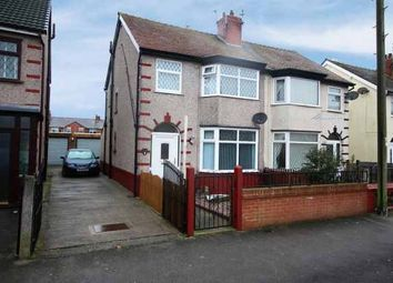 Thumbnail 3 bed semi-detached house for sale in Manor Road, Fleetwood, UK, Lancashire