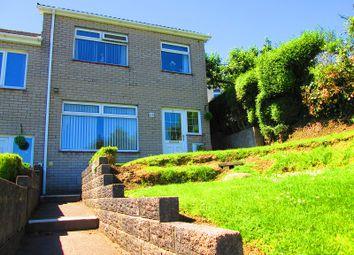 Thumbnail 3 bedroom end terrace house for sale in Trewyddfa Road, Plasmarl, Swansea.