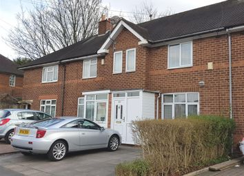Thumbnail 2 bed terraced house to rent in Shaftmoor Lane, Hall Green, Birmingham