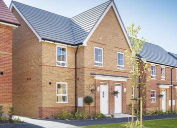 """Thumbnail 3 bed semi-detached house for sale in """"Aylesbury"""" at Michaels Drive, Corby"""