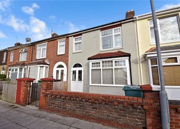 Thumbnail 3 bed terraced house for sale in Aylen Road, Portsmouth