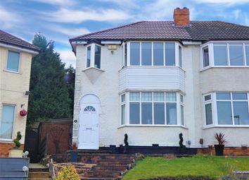 Thumbnail 2 bed semi-detached house for sale in Normanton Avenue, Sheldon, Birmingham