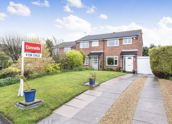 Thumbnail 3 bed semi-detached house for sale in Edward Road, Fleckney, Leicester