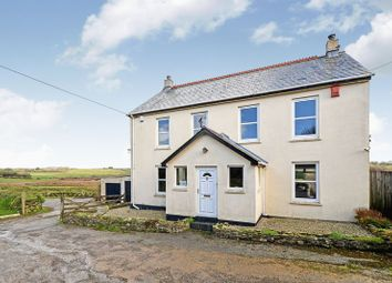 Thumbnail 4 bed detached house for sale in Summercourt, Newquay