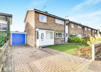 Thumbnail 3 bedroom end terrace house for sale in Manor View, Stevenage, Hertfordshire, England